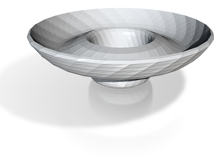 Chips and dip bowl 3d printed