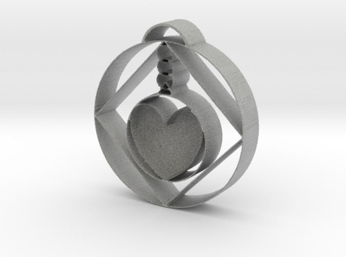 Love Alchemist Pendulum 3d printed