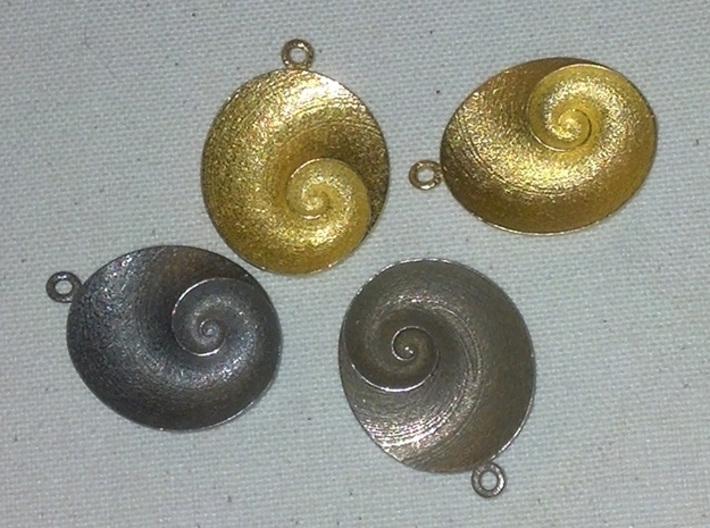 Spiral Pendant (QIII_g2) 3d printed QIV examples.