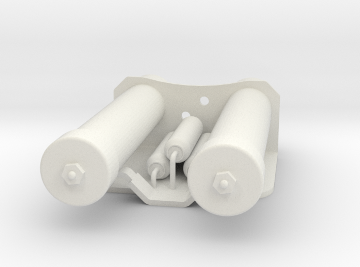 Power Cylinders for E11 blaster 3d printed