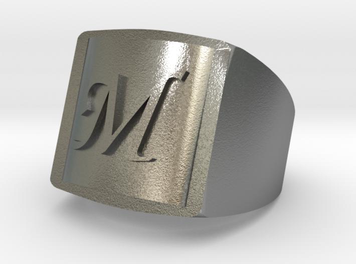 M Bikers Ring 3d printed