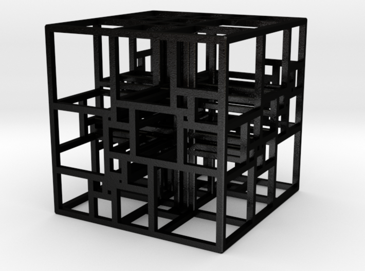 Triple SPSS Cube 28-408 (large) 3d printed