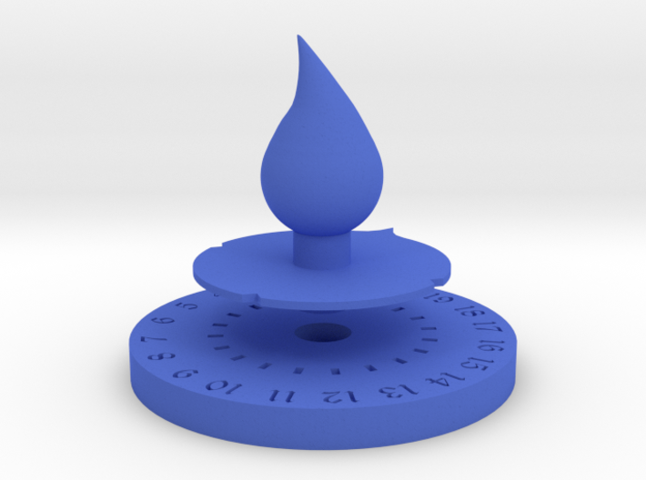 Life Counter Water 3d printed