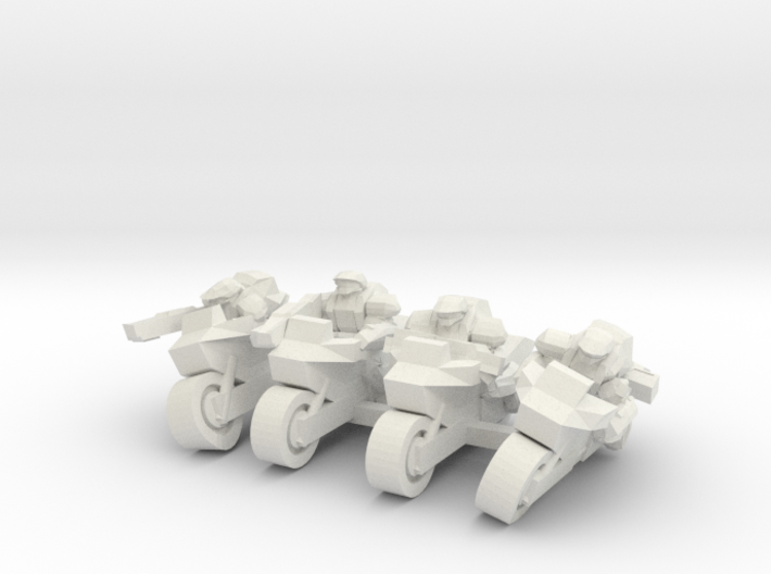 Scout Bikes 6mm 3d printed