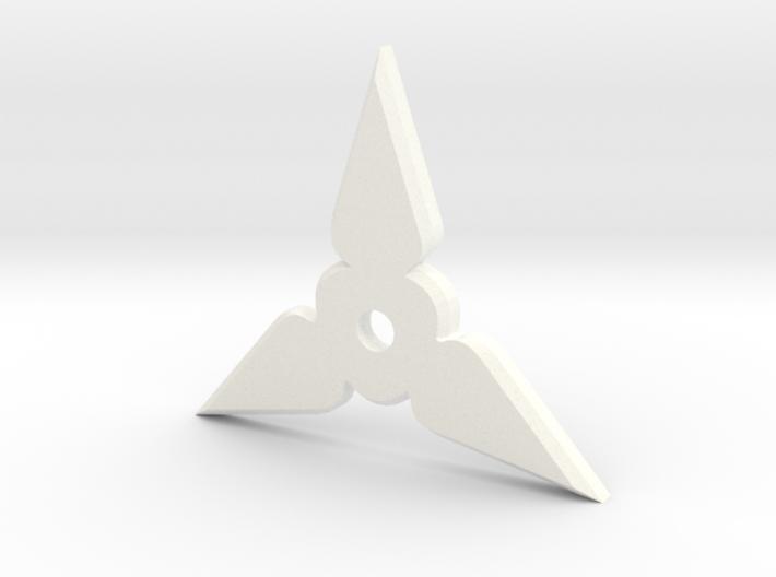 Shuriken Pendant 3d printed