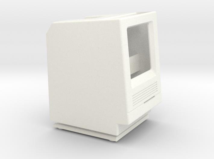 Macintosh SE/30 iPod Nano Dock 3d printed
