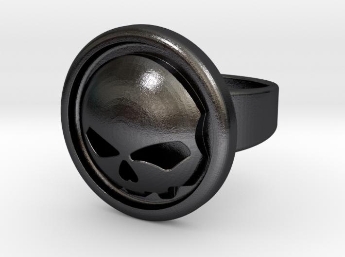 Harley Davidson Round Ring 3d printed