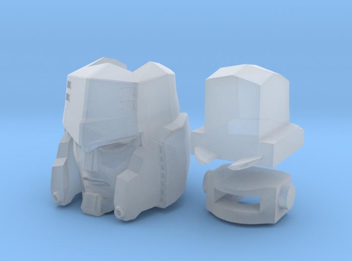m_head 3d printed