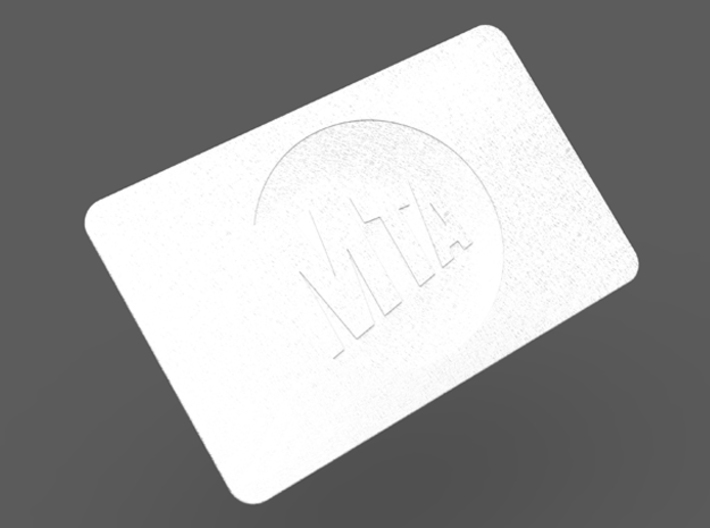 MTA New York Subway Metrocard Holder 2.0 3d printed