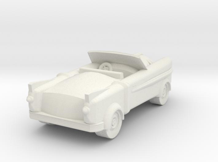 Lancer Car for 28/30mm wargaming retrofuturistic 3d printed