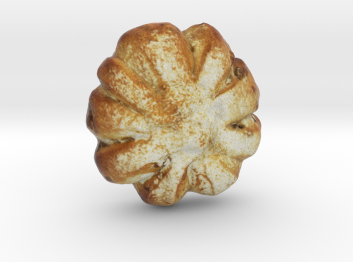 The Walnut Bun 3d printed