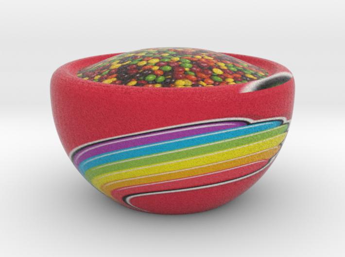 Skittlez Bowl 3d printed