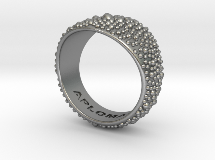Ray Skin Ring Size 10 3d printed