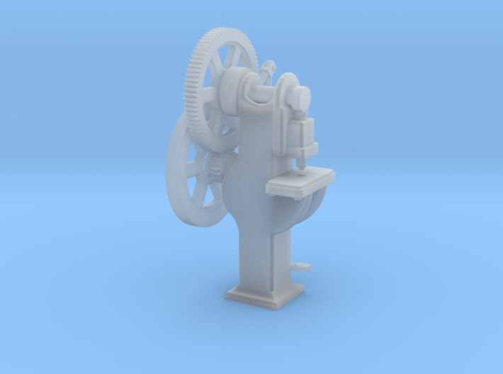 Punch Machine O Scale 1/48 3d printed