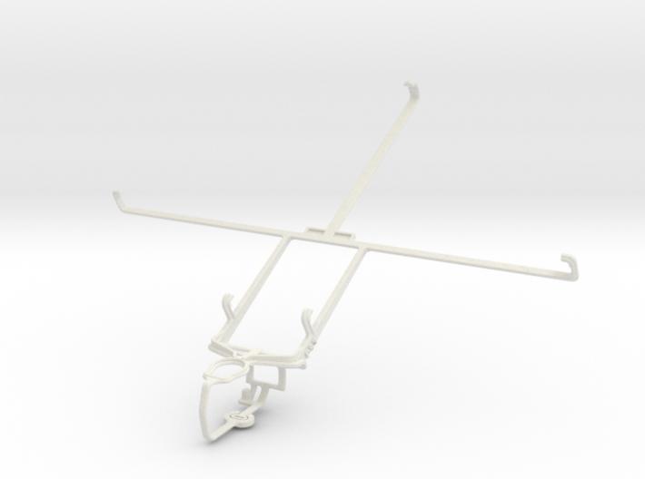 Controller mount for PS3 & Prestigio MultiPad 10.1 3d printed
