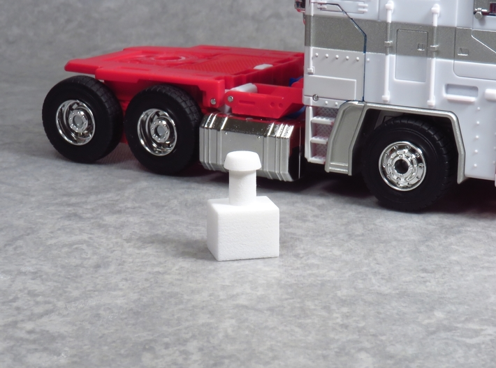 MP-22 Cab to MP-10 Trailer Adapter. 3d printed