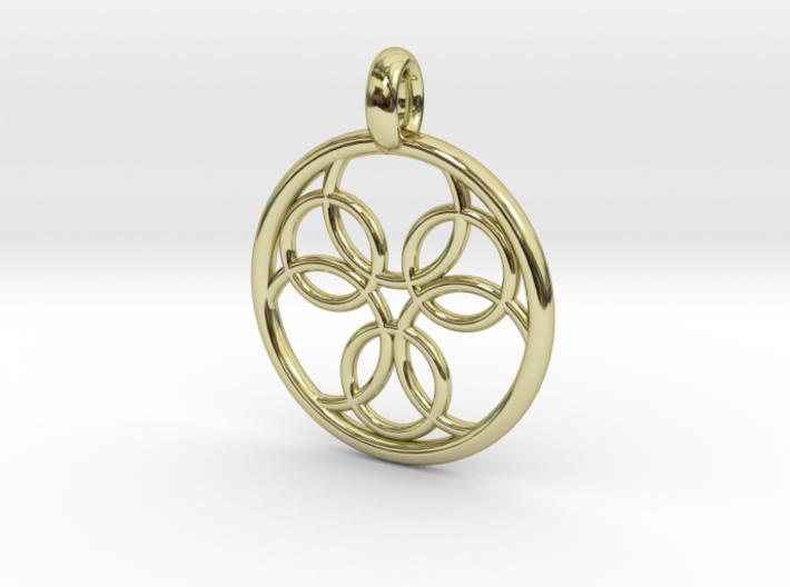 Pasithee pendant 3d printed