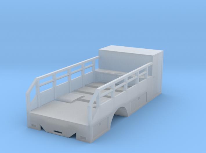 1/50th Scale Tire Service Truck Single axle Body 3d printed