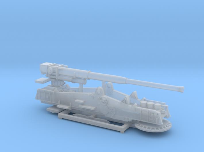 """M65 Gun """"Atomic Annie"""" solo 1/285 6mm 3d printed"""