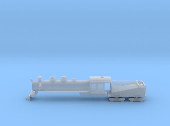 NZ120 Q Class Shell 3d printed