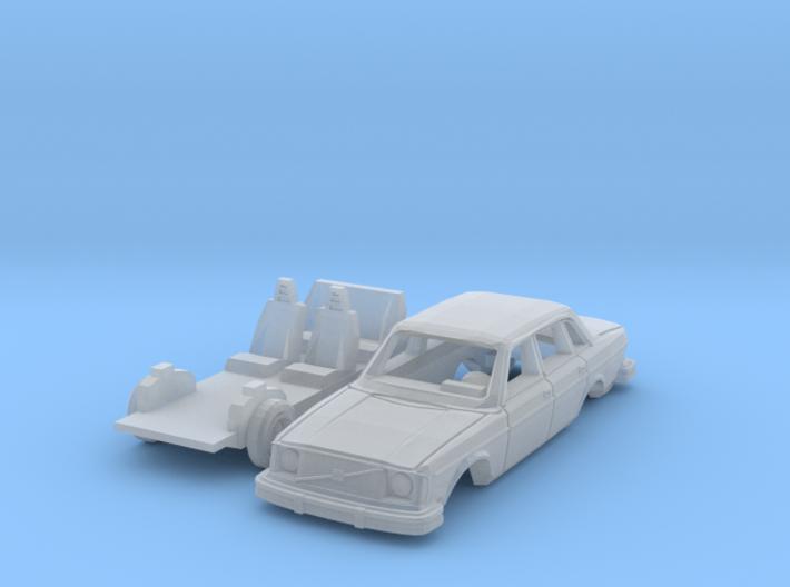 Volvo 244 DL (TT 1:120) 3d printed