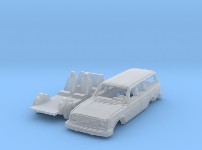 Volvo 245 DL (TT 1:120) 3d printed