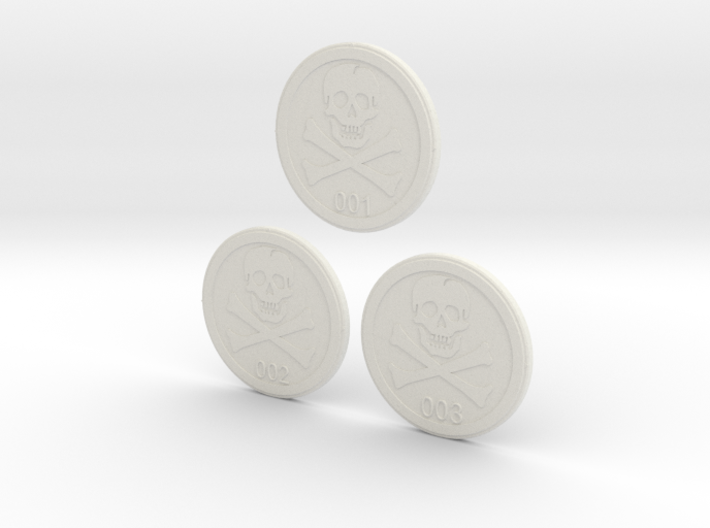 Bases: Jolly Rogers 3d printed