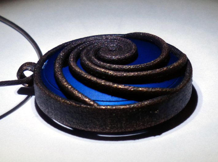 Pendant for Misfit Shine - Phi Wave 3d printed