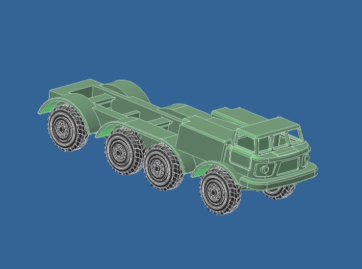 Zil 135 ЗИЛ-135 Fahrgestell 3d printed Add a caption...