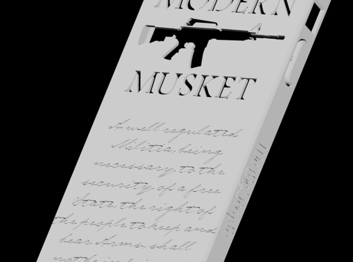 Modern Musket iPhone 5 Case 3d printed