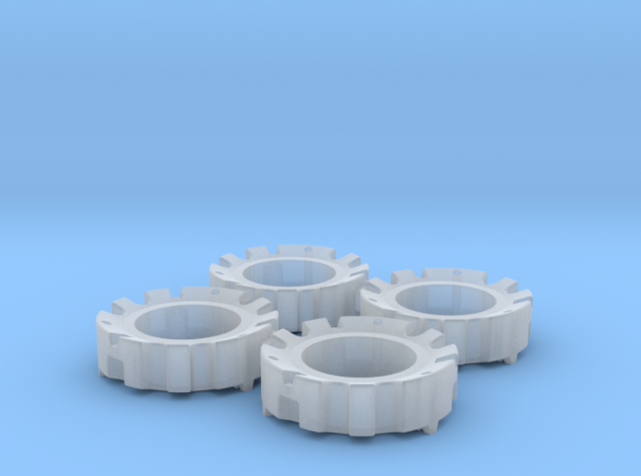 1/64 Wheel Weights Outer (4 Pieces) 3d printed