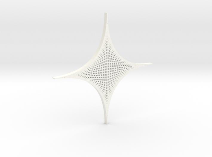 Four Parabolic Curves (Basic) 3d printed
