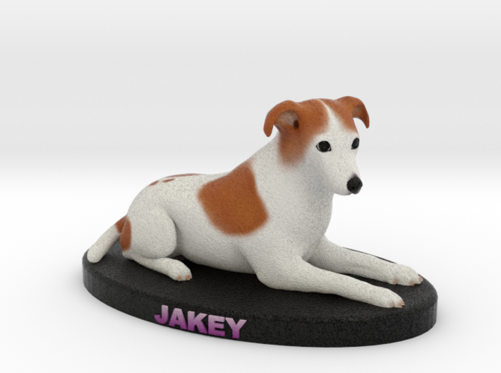Custom Dog Figurine - Jake 3d printed