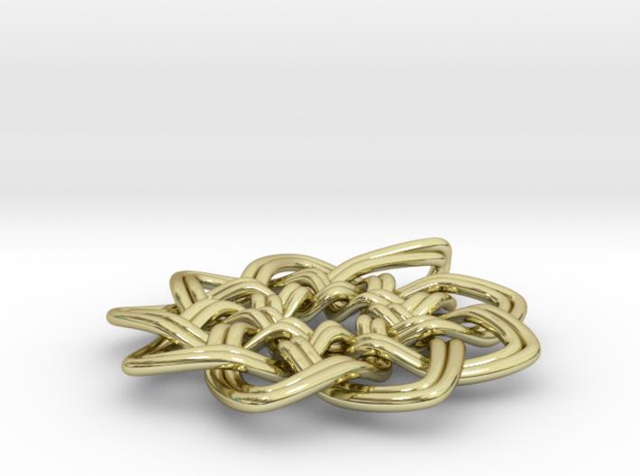 Woven Pendant 3d printed