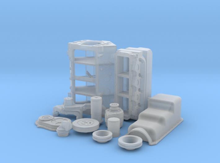 1/18 BBC Basic Block For Mech Fuel Pump 3d printed