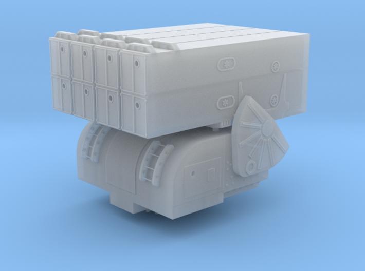 Asroc launcher 1/144 3d printed