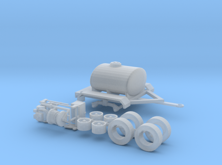 1/87th Water Tender, Fire Support, Fertilizer Tank 3d printed