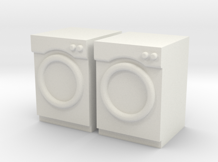 1:48 Front Load Washer/Dryer 3d printed