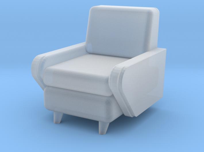 1:48 Moderne Club Chair 3d printed