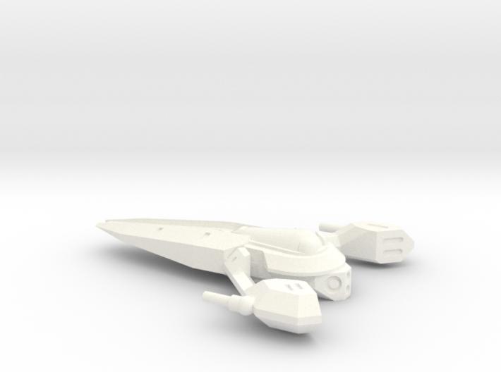 Aurek Strike Fighter 3d printed