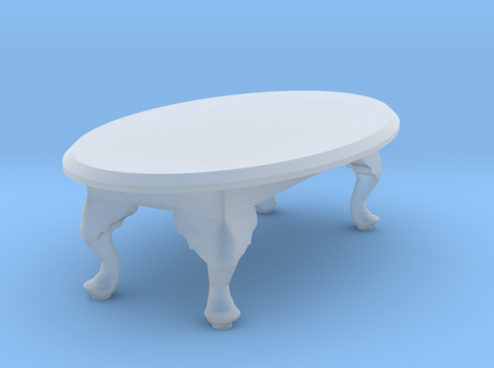 1:48 Queen Anne Coffee Table 3d printed