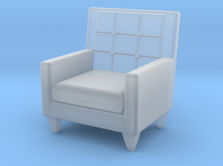 1:48 Sixties Armchair 3d printed