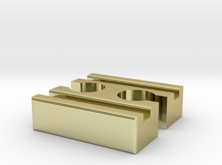 Ikea LILLABO F-F Connector 40mm With Marking 3d printed