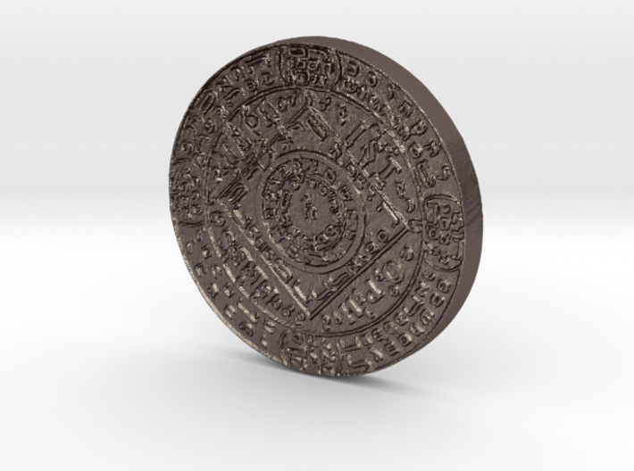 Mephistopheles Coin 3d printed