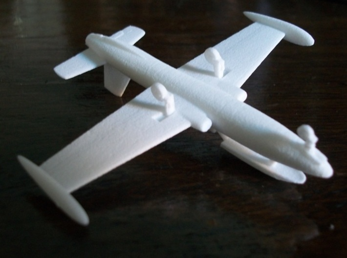 002I Aermacchi MB.326 on the Ground 1/144  3d printed