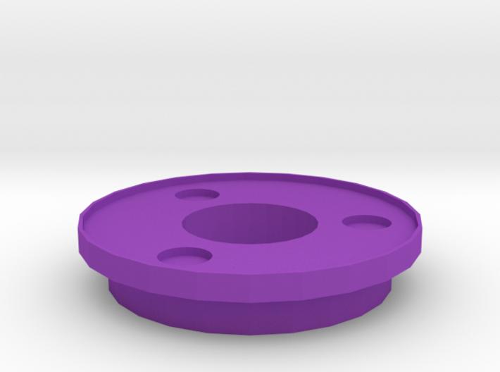 IGOR Tri-Circles Barrel Tip With Lip 3d printed