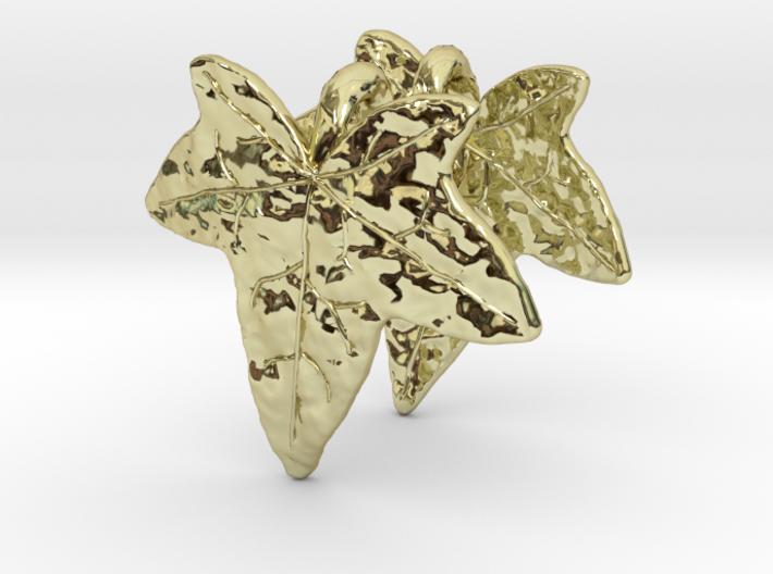 Ivy Leaf Earrings (pair) 3d printed