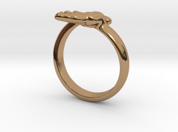 Newborn Baby hand ring 3d printed