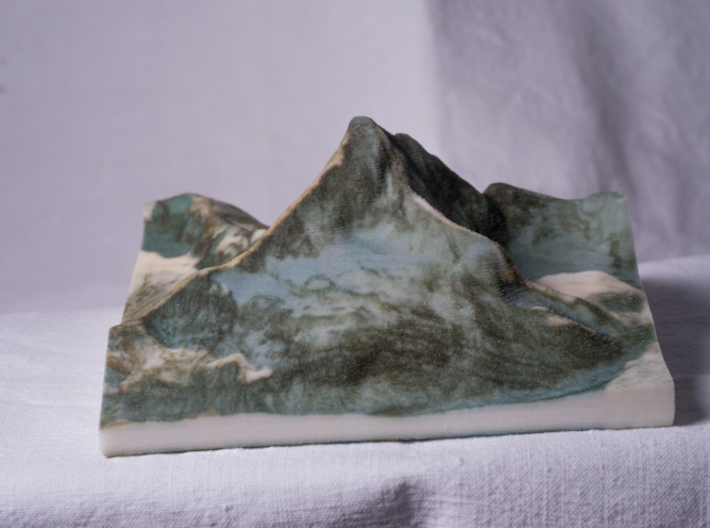 MONTE CERVINO - MATTERHORN MOUNTAIN  02 3d printed