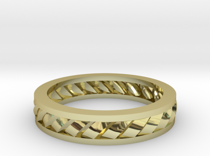 GBW2 Lds Wedding Band 3d printed